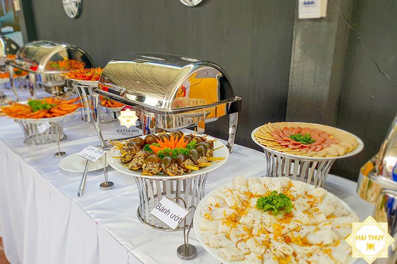 Thực đơn buffet hoàn hảo khi đặt tiệc khai trương quận 1 thịnh phát